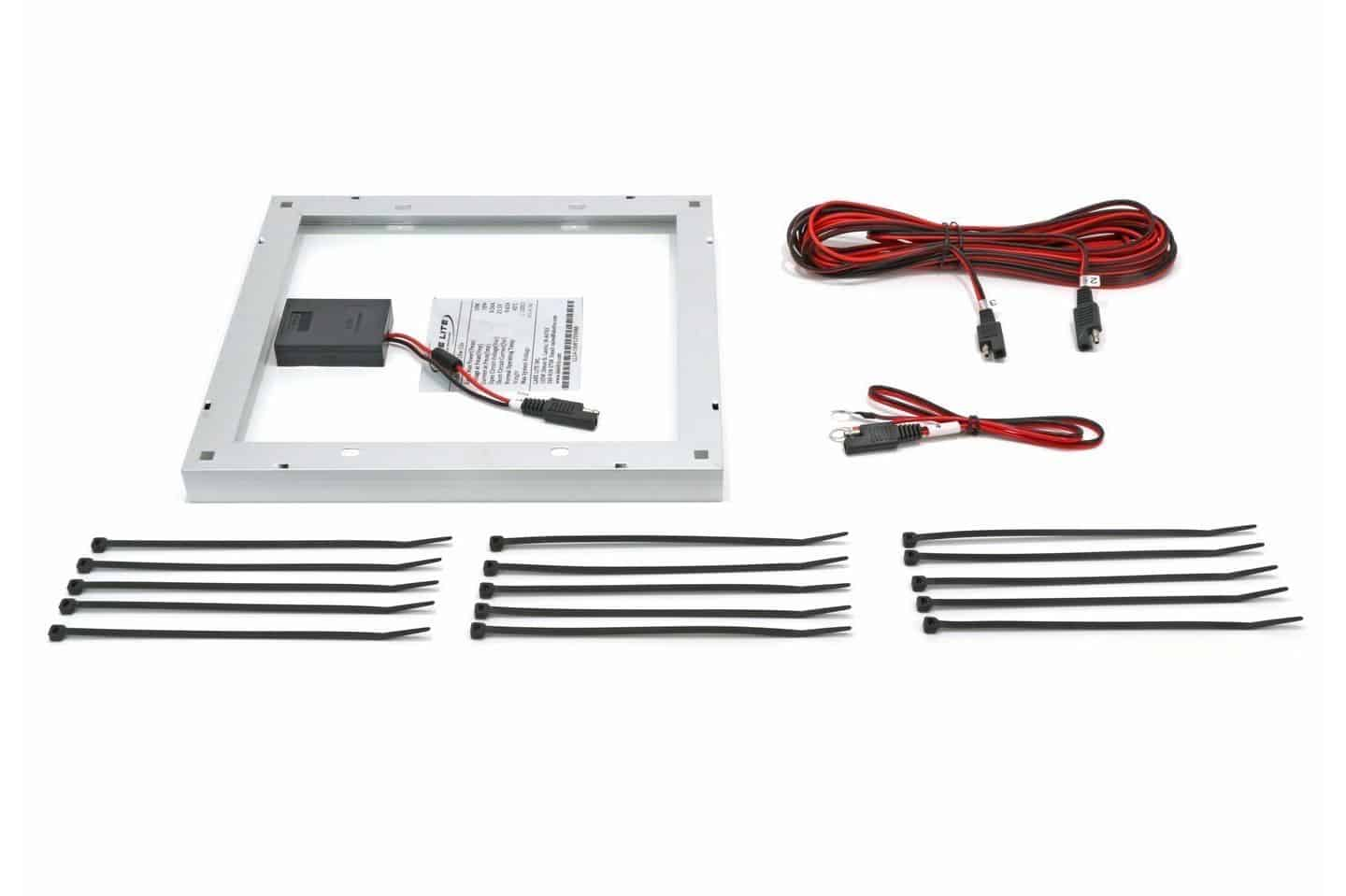 10 watt 12 volt boat lift solar charging kit midwest for Boat lift motors 12 volt