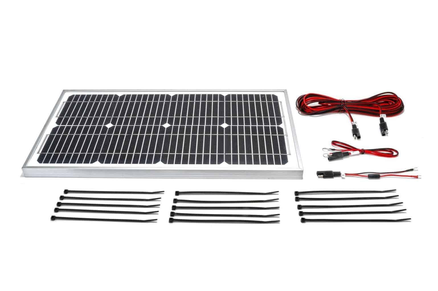 20 Watt 24 Volt Boat Lift Solar Charging Kit Midwest