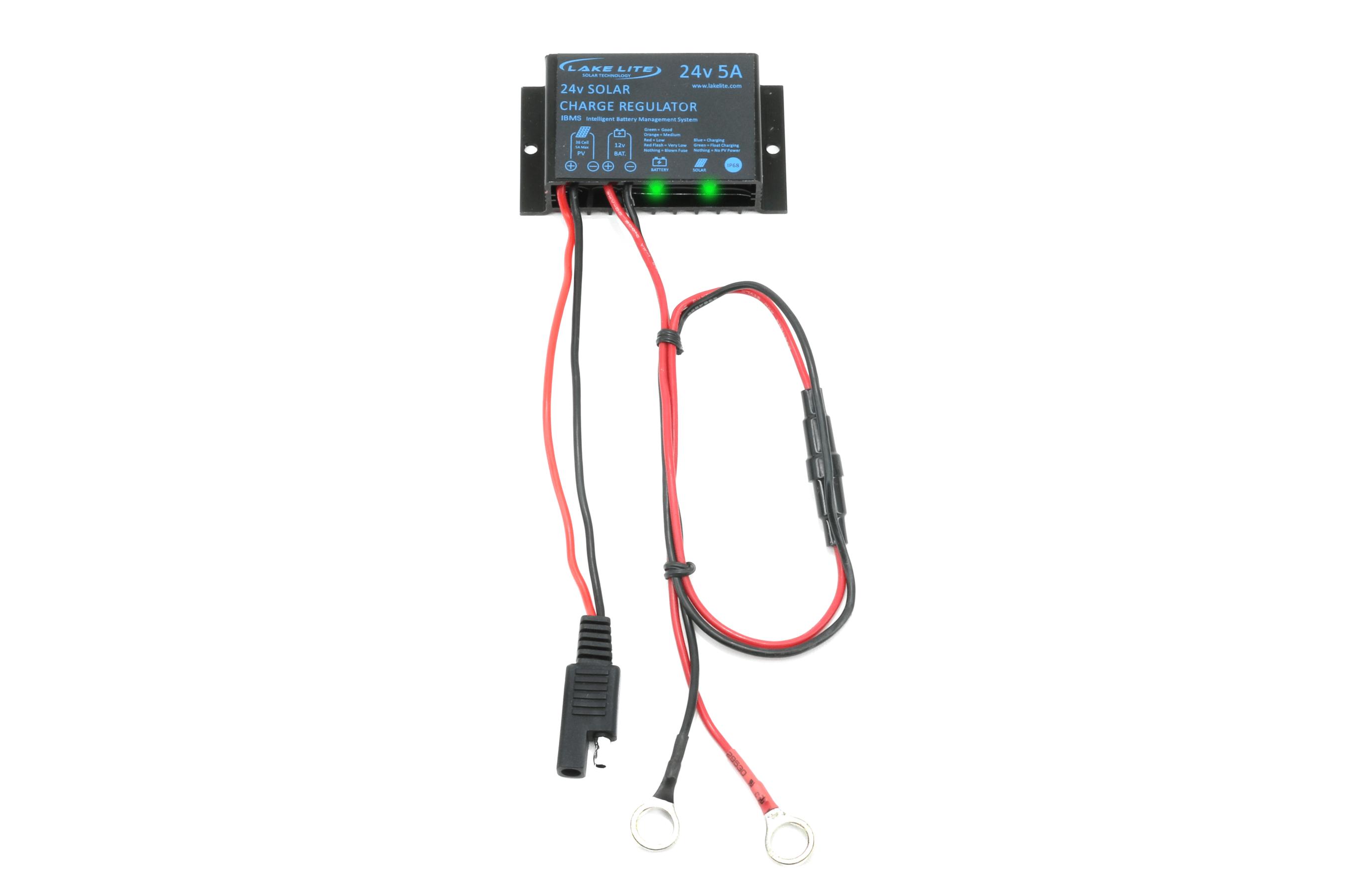 30 watt  24 volt boat lift solar charging kit  u2013 midwest marine supplies