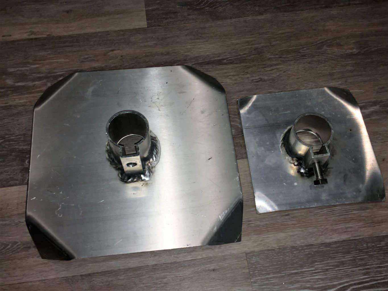 8 X 8 Bottom Plate Midwest Marine Supplies