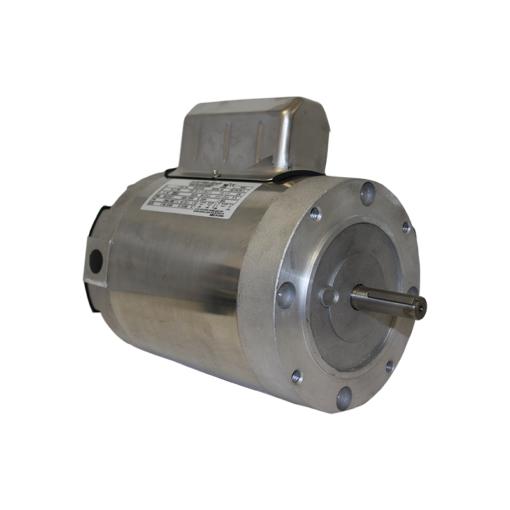leeson electra gear 1 hp stainless steel c face boat lift motorhome lift parts lift motors pile mount lift motors 1 hp motors
