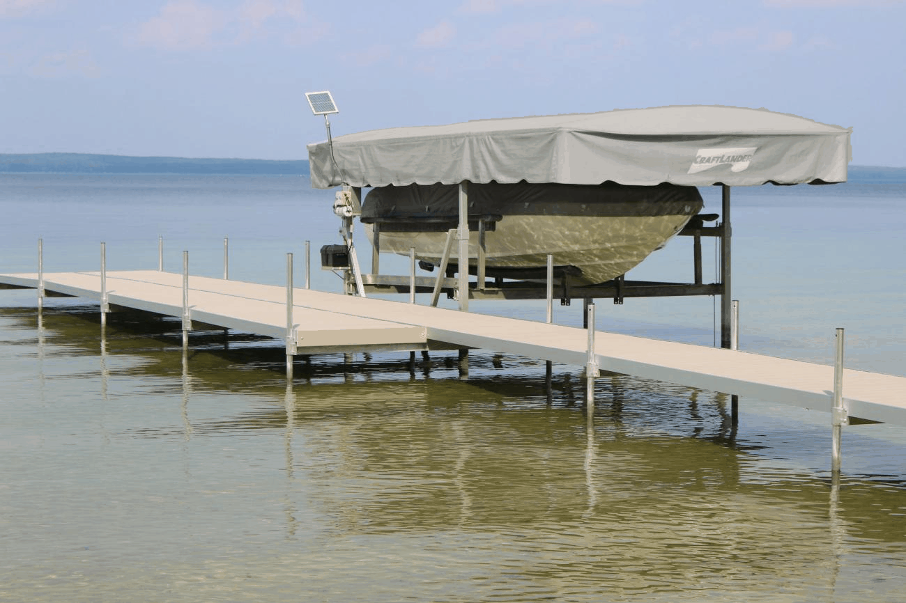 Home / Lift Parts / Canopies / Replacement Canvas / CraftLander & CraftLander Harbor-Time Boat Lift Canvas u2013 Midwest Marine Supplies