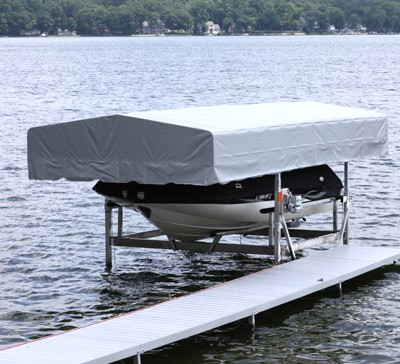 Craftlander High Top Boat Lift Canopy – Midwest Marine Supplies